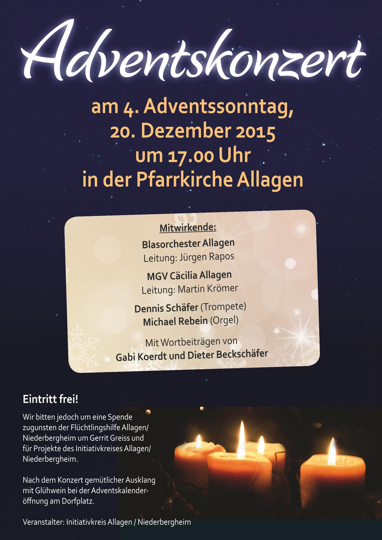 Adventskonzert 2015